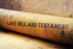 Last Will and Testament is part of Estate Planning